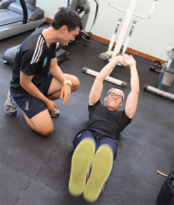 Gym session 2 - Personal Training Singapore