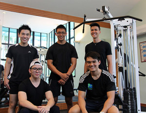Gym session - Personal Training Singapore